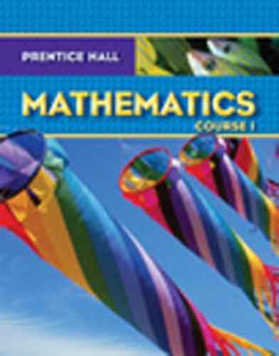 9780132013963: PRENTICE HALL MATH COURSE 1 ADAPTED STUDENT WORKBOOK 2007C