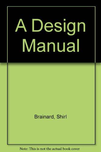 9780132016094: A Design Manual