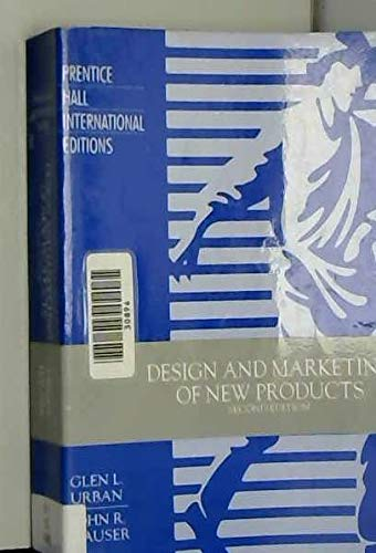 9780132016667: Design and Marketing Of New Products