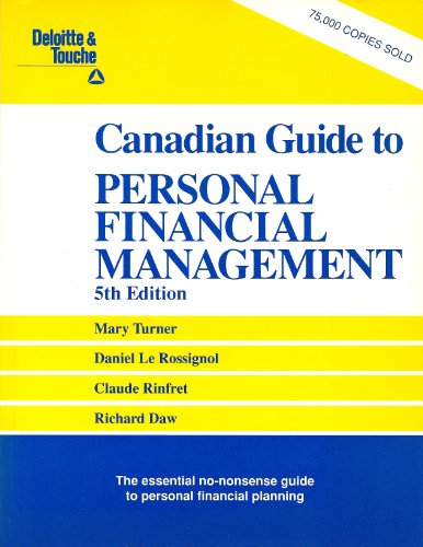9780132016902: Deloitte & Touche Canadian Guide to Personal Financial Management