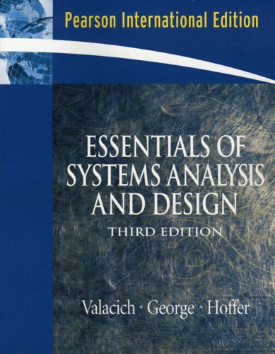 9780132017565: Essentials of System Analysis and Design