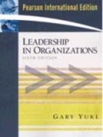 9780132017831: LEADERSHIP IN ORGANIZATIONS