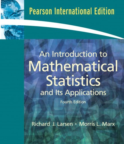 9780132018135: An Introduction to Mathematical Statistics and Its Applications