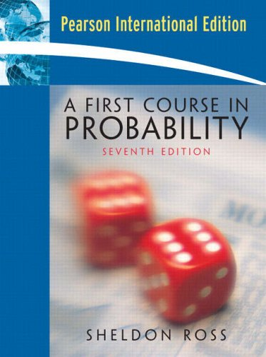 9780132018173: A First Course in Probability