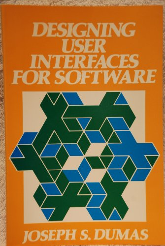 9780132019712: Designing User Interfaces for Software