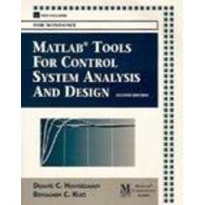 9780132022934: Matlab Tools for Control System Analysis and Design/Book and Disk