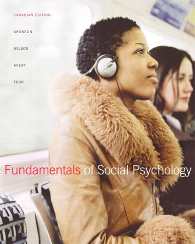 9780132023177: Fundamentals of Social Psychology with GradeTracker, First Canadian Edition