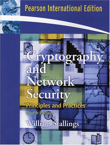 9780132023221: Cryptography and Network Security (4th Edition)