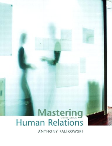9780132023290: Mastering Human Relations (4th Edition)