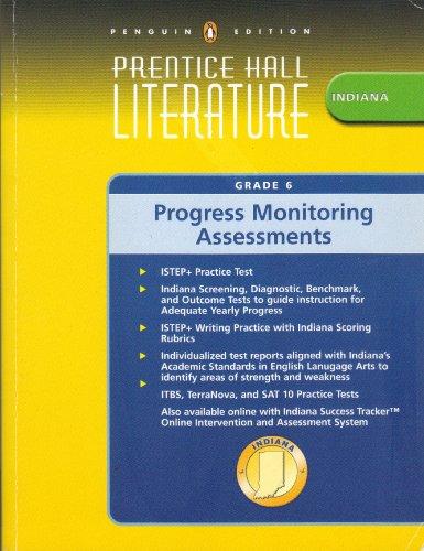 Prentice Hall Literature Gade 6 Indiana Progress: Pearson Prentice Hall