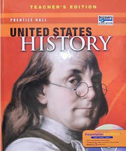 United States History, Teacher's Edition, Hardcover Text: Emma J. Lapsansky-Werner,