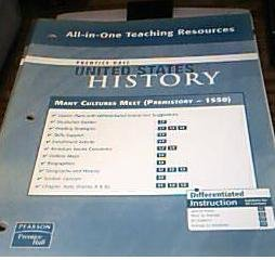 Many Cultures Meet (Prehistory - 1550) All-in-One Teaching Resources (United States History) by ...