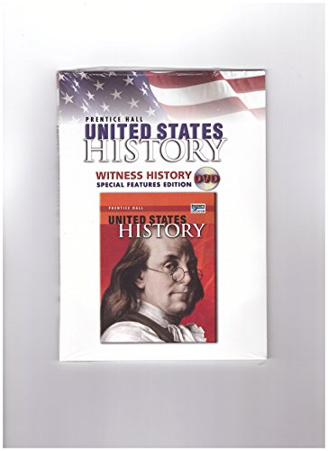 9780132025645: United States Witness History DVD, Special Features Edition, Survey Edition (Prentice Hall United States History: Survey Edition)