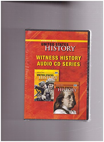 9780132025676: Witness History Audio CD Series (Prentice Hall United States History)