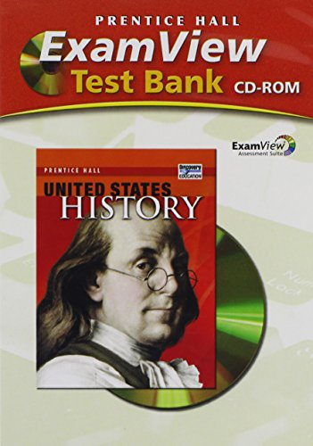 9780132025706: UNITED STATES HISTORY EXAMVIEW TEST BANK 2008C