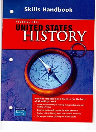 9780132025775: Prentice Hall United States History Skills Handbook. (Paperback)