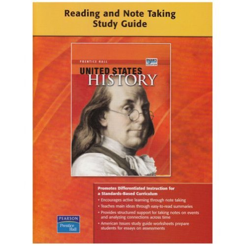 9780132025829: UNITED STATES HISTORY SURVEY READING AND NOTETAKING STUDY GUIDE ON-LEVEL 2008C