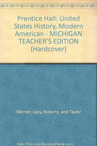 9780132027779: United States History Modern Amercan... Michigan Edition