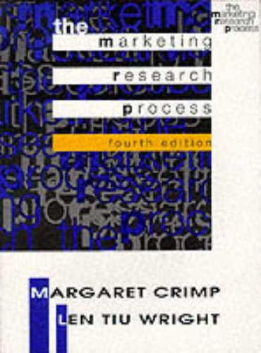 9780132028394: The Marketing Research Process