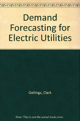 9780132028479: Demand Forecasting for Electric Utilities