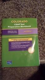 9780132028905: Colorado CSAP Test Preparation Workbook Algebra I