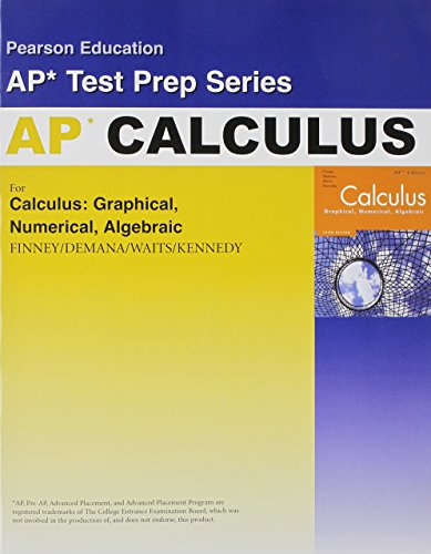 9780132029490: CALCULUS ADVANCED PLACEMENT TEST PREP WORKBOOK 2007C (Pearson Education Ap* Test Prep Series)