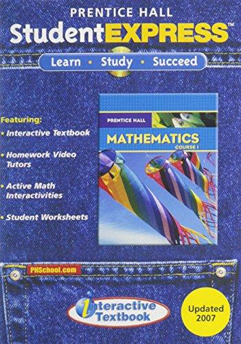 Prentice Hall Mathematics: Course 1: Editor-Pearson Education; Editor-Prentice