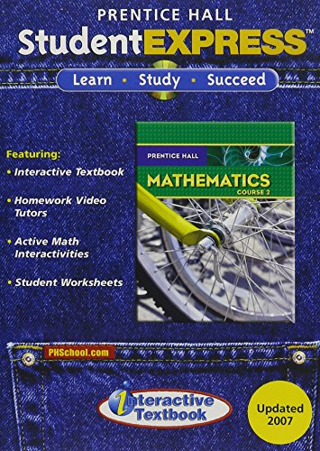 9780132030823: PRENTICE HALL MATH COURSE 2 STUDENT EXPRESS CD-ROM