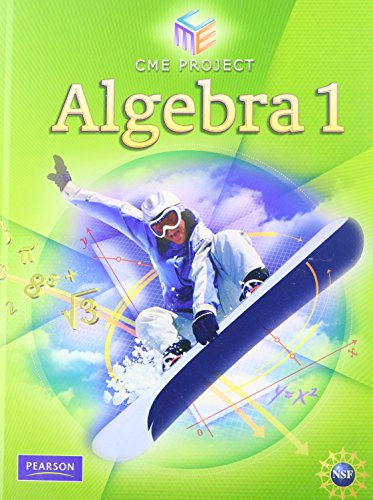 9780132031172: CENTER FOR MATHEMATICS EDUCATION ALGEBRA 1 STUDENT EDITON