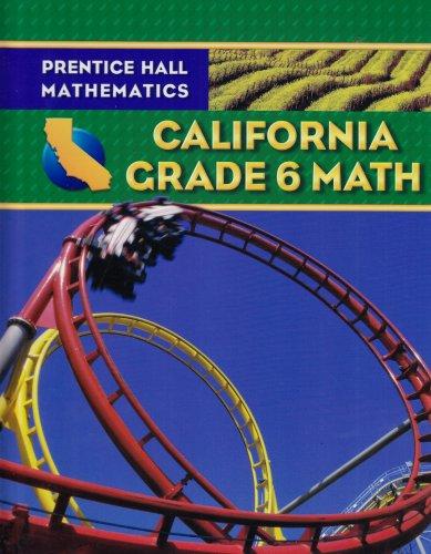 9780132031196: Prentice Hall Mathematics California Grade 6 Math