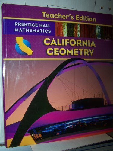 9780132031295: California Geometry