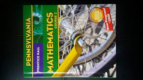 9780132031417: Mathematics: Course 2 Pennsylvania Edition (Prentice Hall Mathematics, Course 2)