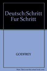 9780132033800: Deutsch Schritt Fur Schritt