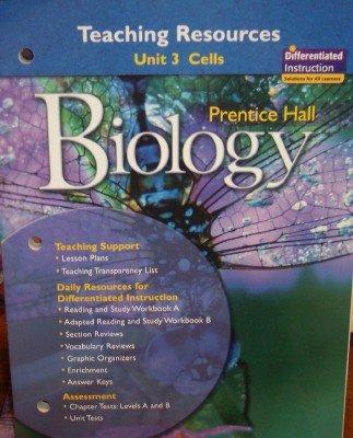 9780132033978: Unit 3: Cells; Teaching Resources (Biology)