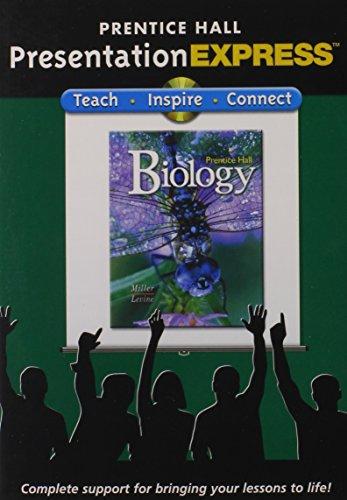 9780132034081: MILLER LEVINE PRENTICE HALL BIOLOGY PRESENTATION EXPRESS 2008C