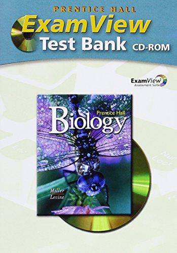 9780132034203: Miller Levine Prentice Hall Biology Examview 2008c