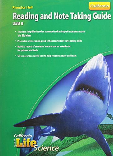 9780132034425: Focus on Life Science Reading and Note Taking Guide Level B California Edition