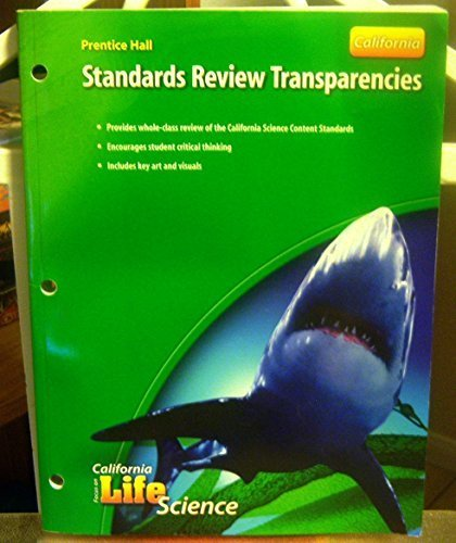 9780132034548: Standards Review Transparencies (California Focus on Life Science)