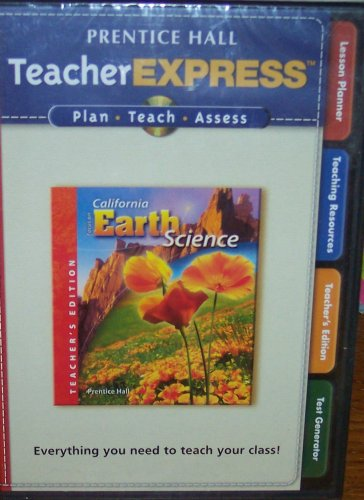 9780132035347: Teacher Express (Focus on California Earth Science, Teacher's Edition, Plan, Teach, Assess)