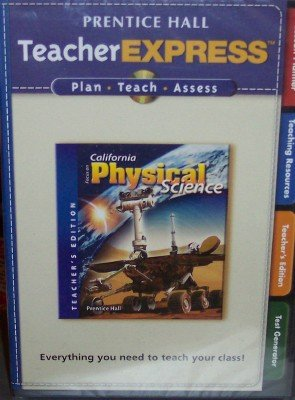 9780132035361: Teacher Express, Grade 8 (Focus on California Physical Science, Teacher's Edition)