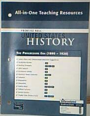 9780132036818: Prentice Hall United States History All-in-One Teaching Resources The Progressive Era. (1890-1920). (Paperback)