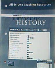 Prentice Hall United States History: World War: Pearson Prentice Hall