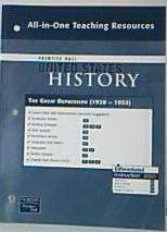 Prentice Hall United States History All-in-One Teaching Resources The Great Depression (1928-1932)....