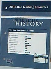 9780132036863: Prentice Hall United States History All-in-One Teaching Resources The New Deal. (1932-1941). (Paperback)