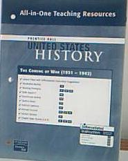 9780132036870: Prentice Hall United States History All-in-One Teaching Resources The Coming of War. (1931-1942). (Paperback)