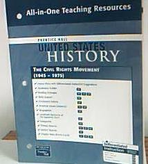 Prentice Hall United States History All-in-one Teaching: Pearson Prentice Hall