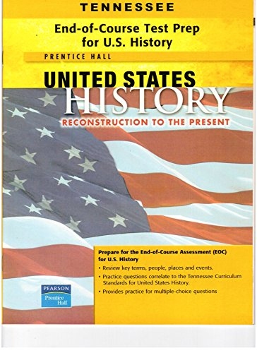 Tennessee End-of-Course Test Prep for U.S. History: Staff