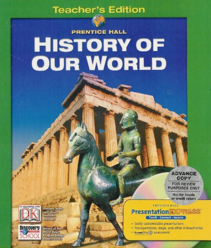 9780132037723: History Of Our World:Survey (TE)