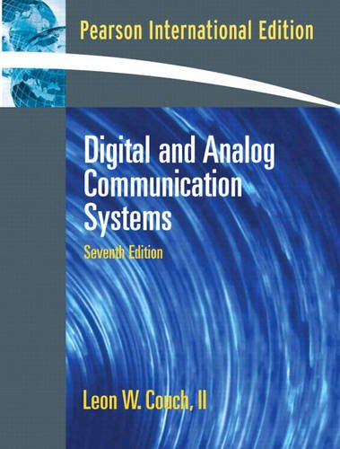 9780132037945: Digital and Analog Communication Systems
