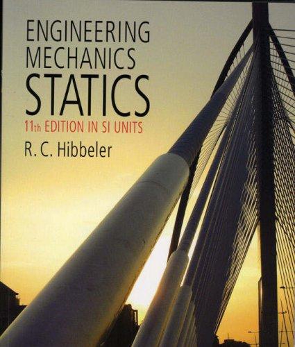 9780132038089: Engineering Mechanics-Statics SI Pack (11th Edition)